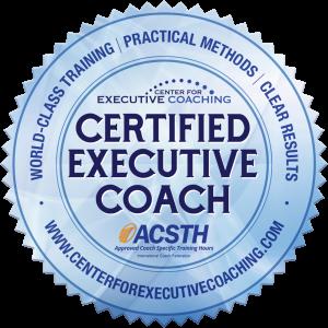 certification logo center for executive coaching
