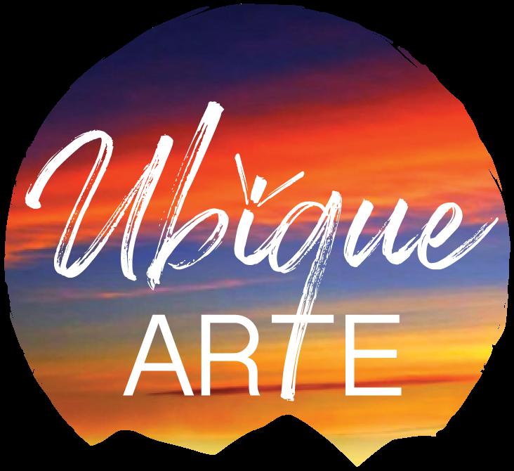 UBIQUE ARTE full logo white