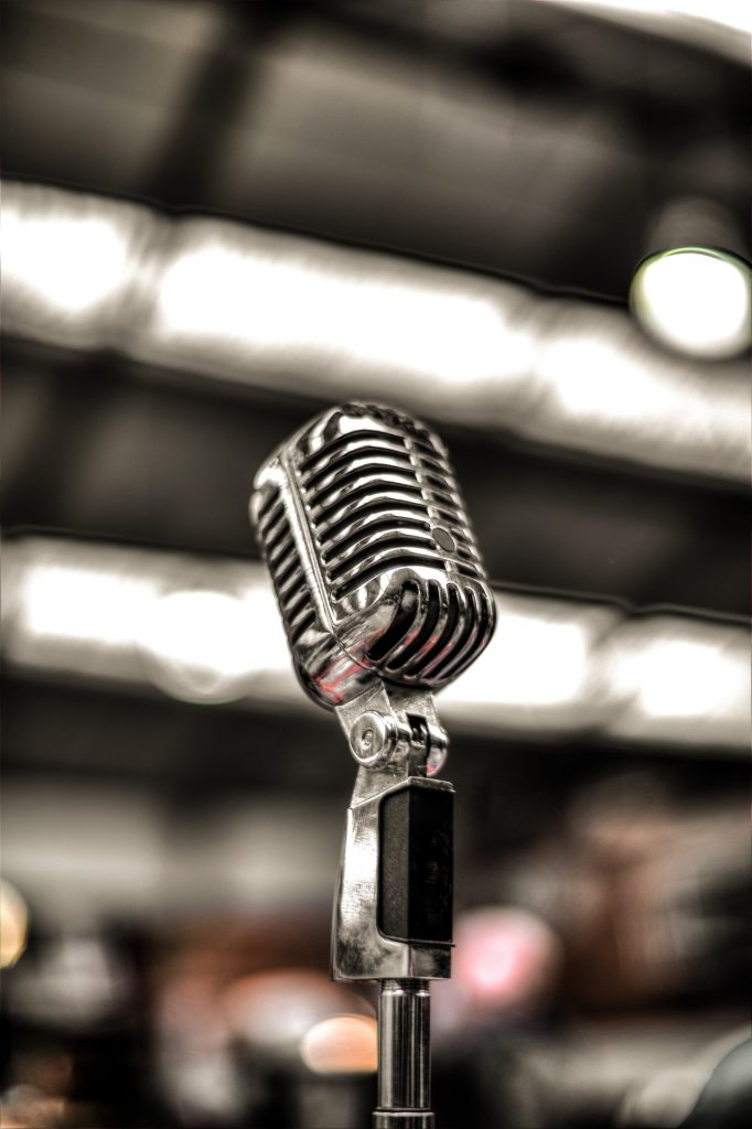 microphone public speaking