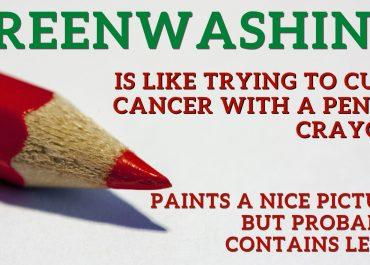 Greenwashing Has Me Seeing Red
