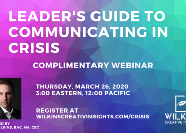 Webinar – Leader's Guide to Communicating in Crisis